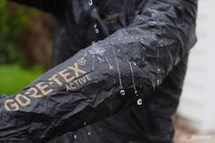 Since the waterproof/breathable membrane is the shell itself, there's no need for additional water repellant surface treatments that can otherwise decrease the breathability of the fabric. The jacket starts out waterproof and extraordinarily breathable and stays that way.
