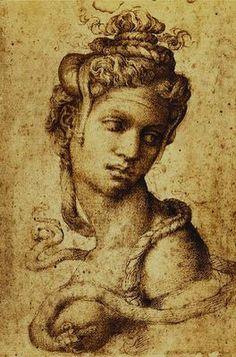 Michel-Ange (1475-1564) - Cléopâtre