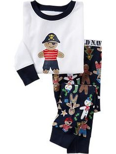Gingerbread-Man PJ Sets for Baby | Old Navy