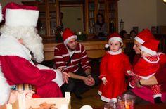meeting Santa in his office in Slovakia