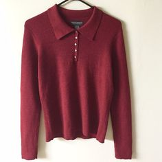 Banana Republic XL 100% merino wool maroon sweater Perfect like new condition Banana Republic Sweaters