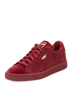 PUMA CLASSIC SUEDE AND VELVET SNEAKER.  puma  shoes   Casual Sneakers 11b92918c