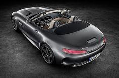 Breite Hüfte! Mercedes-AMG GT C Roadster: 557 PS