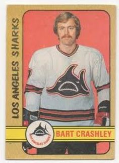 Defenseman Bart Crashley was a journeyman player for the Red Wings, Los Angeles Kings and Kansas City Scouts in the NHL and the Los Angeles Sharks of the WHA in the 1960s and '70s.