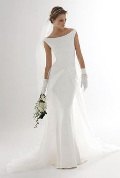 Classic Wedding Gowns for Over-50 Brides. #weddings #brides #over50