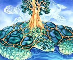 Items similar to Turtle Island - Mythology Photo Art Print plus Mat on Etsy Native American Literature, Native American Art, Creation Myth, Indigenous Art, Aboriginal Art, Native Art, Mythology, Photo Art, Nativity