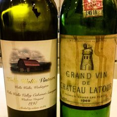 A '69 Latour and our '97 Windrow Cab ... now that's a pretty decent start to an evening!!