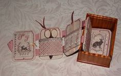 lounging hare mini sewing box open - side 1 (3 of 3)