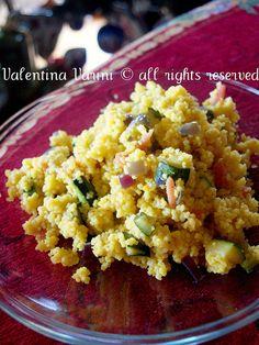 La Cuoca Pasticciona: Cous cous con verdure e speck al profumo di zaffer...