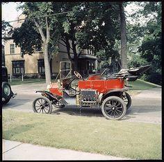 antique car...we call this chitty chitty bang bang...