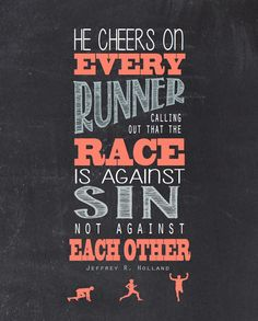 Race Against Sin. Jeffrey R Holland