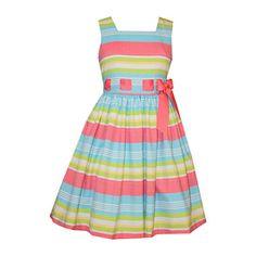 jcpenney.com   Bonnie Jean® Sleeveless Striped Linen Dress - Girls 7-16 and Plus