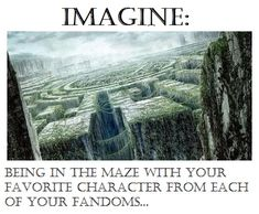 I would be trapped with Bucky Barnes, Prince Zuko, Leo Valdez, and Newt.