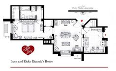 The NEW YORK apartment for  I Love Lucy...♥