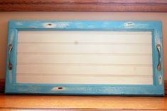 Cupboard Door Repurposed