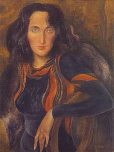 Albert Birkle Lady with Fox (Pharyah) Gerhard Richter, Max Ernst, Contemporary Artists, Modern Art, Rainer Fetting, New Objectivity, Realism Artists, Art For Art Sake, Character Portraits