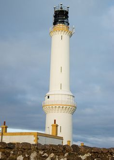 GIRDLE NESS lighthouse situated at Torry near Aberdeen.Scotland my wake up view