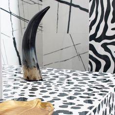 Animal prints for #tile on the wild side! #cevisama2018 is in full force today thanks to @apegrupos Moonlight #porcelaintile series! // #architecture #designhounds #designer #designinterior #homeinterior #homedesign #instadesign #interiordesign #interiors #interiorinspo #idcdesigners #pattern #tileometry #teamtile #tiles #tiled #tilecrush #tileaddiction #tiledesign #tilelove #tilestyle #tilework #whytile #Spanishtile