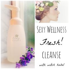 Sexy healthy women insist on sexy healthy ingredients for their personal use. A personal cleansethat won't dry, sting or leave a filmy residue. Wait until you see how simple, pure and totally beneficial this is.