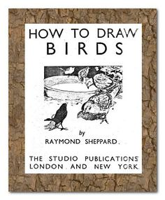 How to draw birds, free download. cir 1942