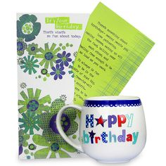 Birthday Gift Hamper Say Happy Birthday in a unique way to your dear one with this hamper which includes a mug and a greeting card. Rs. 524 : Shop Now : https://hallmarkcards.co.in/collections/shop-all/products/birthday-gift-hamper