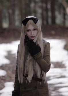 Belarus (dt.: Weißrussland) I like the way she looks at me...a little bit creepy but also cool                                                                                                                                                                                 More