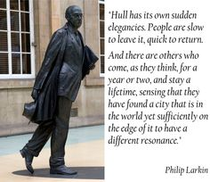 Larkin on Hull Hull England, England Uk, British Slang, Kingston Upon Hull, Hull City, Personal Investigation, East Yorkshire, Being In The World, Grand Tour