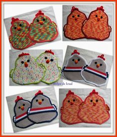 Haak Zelf Deze Grappige Pannenlap Haken Crochet Crochet