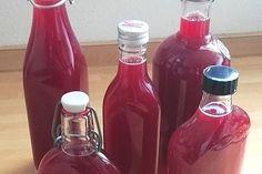 Sauerkirschlikör 1 Rum, Hot Sauce Bottles, Homemade, Drinks, Smoothies, Desserts, Food, Accessories, Drinks Alcohol Recipes
