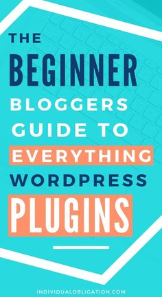 What are WordPress plugins? Learn everything you need to know here with this quick and easy guide for beginners. Wordpress Plugins, Wordpress Theme, Blogging For Beginners, Blogging Ideas, Blog Topics, Creating A Blog, How To Start A Blog, Web Business, Business Tips