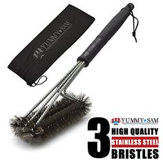 BBQ Grill Brush Outdoor Barbecue Cleaning Scraper Cleaning Tool - 18'' Heavy…