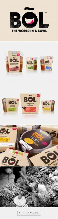 BOL food packaging designed by B&B studio - http://www.packagingoftheworld.com/2015/08/bol.html