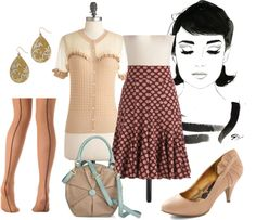 """""""Modern Audrey"""" by allison-biggs-gd on Polyvore"""