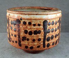 "Otto + Vivika Heino Listed Ceramist HandThrown Vase Signed Dated 4"" x 5"" -Estate"
