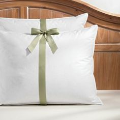 wonderful goose down pillows,that are being a give away.These are the pillows I dream about resting my weary head on every night must be like a bit of heaven!