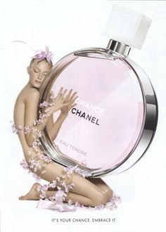 Chanel Fragrance Ad Campaign Chance