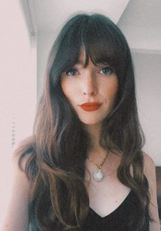 This is 2021's Biggest Haircut Trend—Here's How to Actually Pull It Off | The Everygirl Choppy Bangs, Full Bangs, Blunt Bangs, Baby Pony, Zooey Deschanel, Face Framing Layers, Baby Bangs, Side Swept Bangs, Curtain Bangs