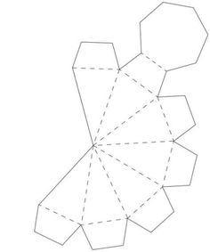 Paper Diamond, Origami Paper Art, Diy Paper, Paper Crafts, Nursing Home Crafts, Diamond Template, Diamond Theme, Matchbox Crafts, Paper Box Template