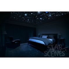 Glow in the dark Star Stickers DIY Star Ceiling for bedrooms. Surprise... ($45) ❤ liked on Polyvore