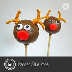 Pop.Cut Blogger Adventskalender, Rentier, diy, backen, Cake Pop, weihnachts Bäckerei