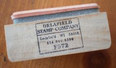 Delafield Rubber Stamps | When I first began stamping, this was one of my favorite stamp companies.