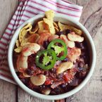 Vegetarian chili recipes from A Beautiful Mess! I'm making the pumpkin chili recipe for dinner tonight!