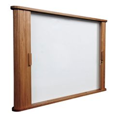 Tambour Door Enclosed Cabinets