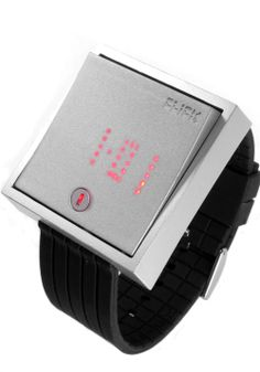 Click Wallswitch Silver - The Coolest Watches from Watchismo.com