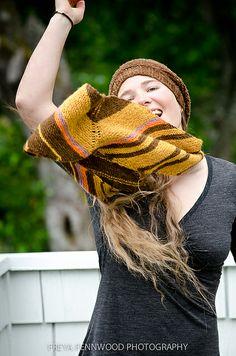 Ravelry: mangoflamingo's All Natural Dye scarf Ravelry, Cowl, Winter Hats, Stripes, Natural, Pattern, Inspiration, Beautiful, Fashion
