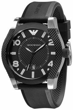 Armani Sport Two-Tone Steel Black Dial Men's Watch #AR5838 Armani. $165.75. 50 Meters / 165 Feet / 5 ATM Water Resistant. 42mm Case Diameter. Quartz Movement. Mineral Crystal