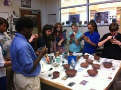 Empty Bowls—Saturday, February 22—11 a.m.—Upper School campus. Details: http://emptybowls.wix.com/flinthill With a $15 donation, receive a beautiful bowl and soup. Hosted by the Clay Club, this event raises money to fight hunger by selling ceramic bowls made by our students, parents, faculty and staff. All proceeds benefit DC Central Kitchen. Clay Club students have coordinated several bowl-making workshops for the school community including this collaborative one with the Classics Club.