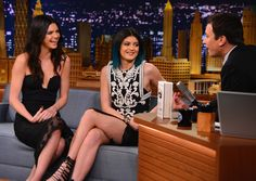 """Kendall Jenner and Kylie Jenner visit """"The Tonight Show Starring Jimmy Fallon"""" at Rockefeller Center on June 4, 2014 in New York City. (June 3, 2014 - Source: Theo Wargo/NBC/Getty Images North America)"""