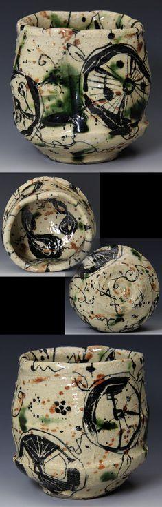 This is beautiful! Japanese Ceramics, Japanese Pottery, Ceramic Painting, Ceramic Artists, Ceramic Bowls, Ceramic Pottery, Artisan & Artist, Matcha, Japanese Tea Ceremony