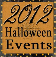 A list of fun Fall and Halloween events and activities in Utah for 2012